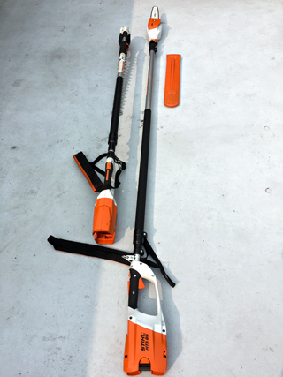 Stihl HTA 85 Pole Saw and H